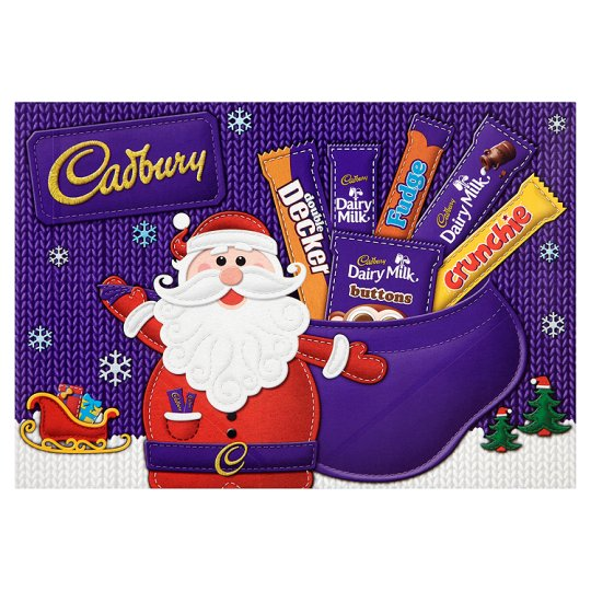 Cadbury Medium Santa Selection Box 150g