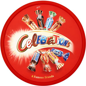 Celebrations Chocolates Tub 650g