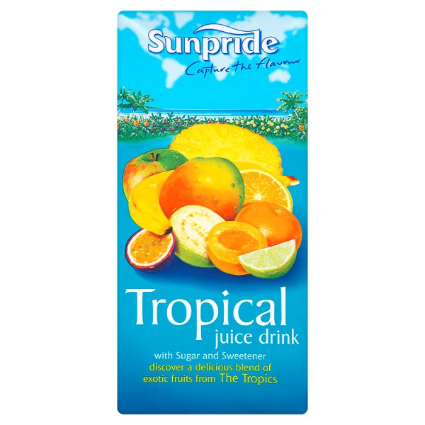 Sunpride Tropical Juice 1L