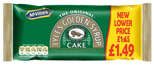 Lyle's Golden Syrup Cake 205g