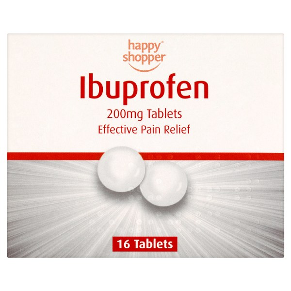 Ibuprofen 200mg Tablets (pack of 16)