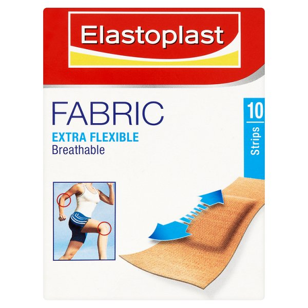 Elastoplast Waterproof Fabric Plasters (18)