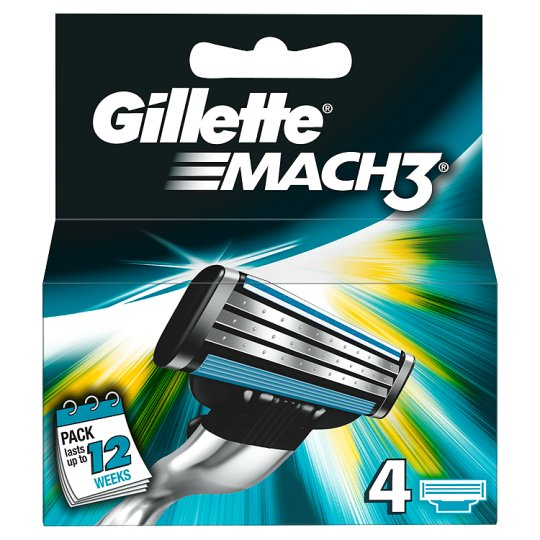 Gillette Mach 3 Blades (pack of 4)