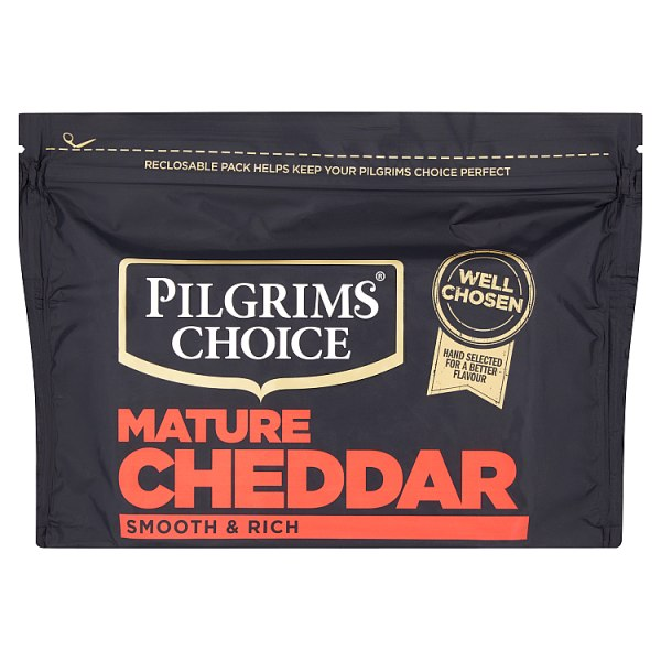 Pilgrims Choice Extra Mature Cheddar Cheese 350g