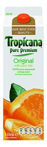 Discover the Choice Pure Squeezed Orange Juice with Juicy Bits 1