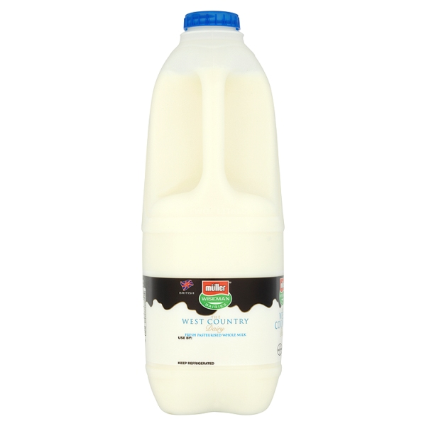 Mulller Wiseman Whole Milk 2 Litres