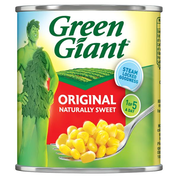 Green Giant Original Sweet Corn 340g
