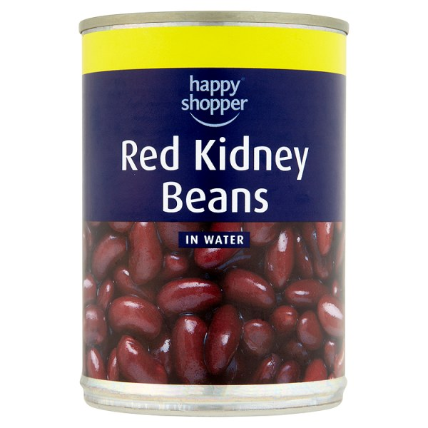 Happy Shopper Red Kidney Beans in Water 400g