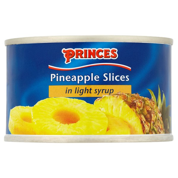 Princes Pineapple Slices in Light Syrup 227g