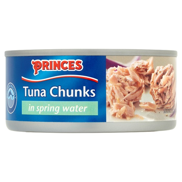 Princes Tuna Chunks in Spring Water 160g**MULTI PACK **pack of 4