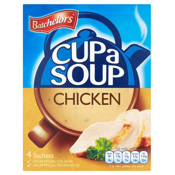 Batchelors Cup a Soup Chicken 4 Sachets 81g