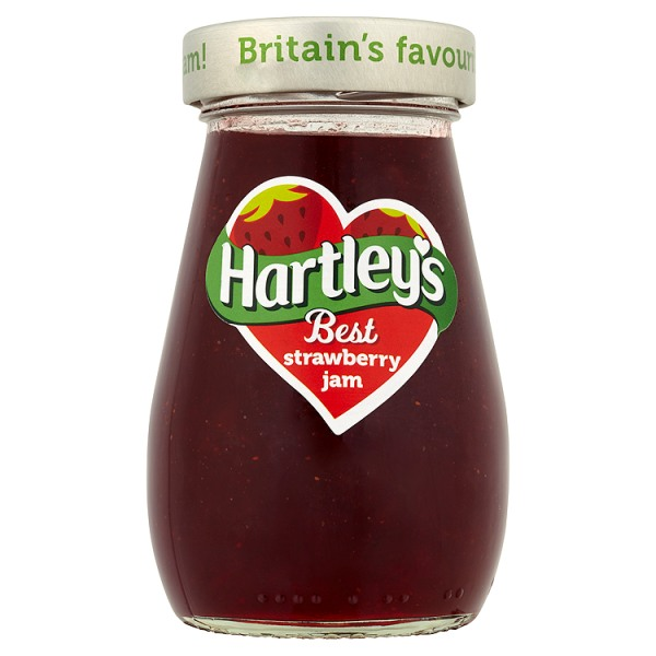 Hartley's Best Srawberry Jam 340g