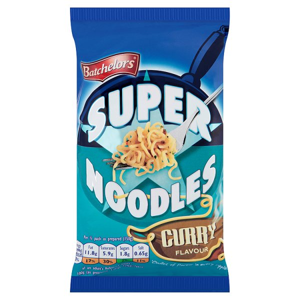Batchelors Super Noodles Curry Flavour 100g