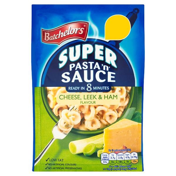 Batchelors Super Pasta 'n' Sauce Cheese, Leek & Ham Flavour 110g