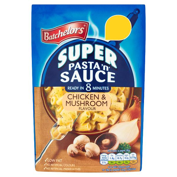 Batchelors Super Pasta 'n' Sauce Chicken & Mushroom Flavour 110g
