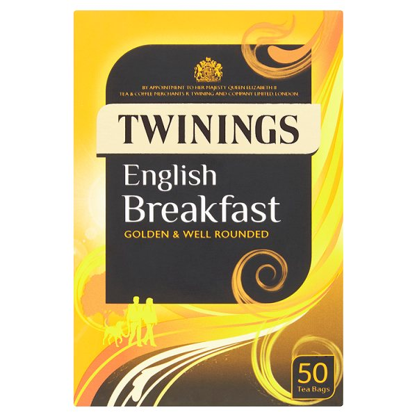 Twinings English Breakfast 100 Tea Bags