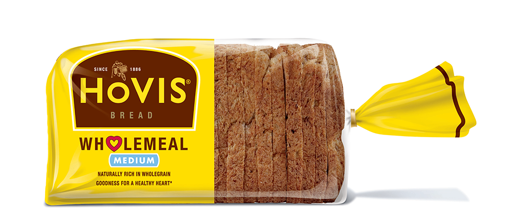 Hovis Medium Sliced Wholemeal Bread 800g