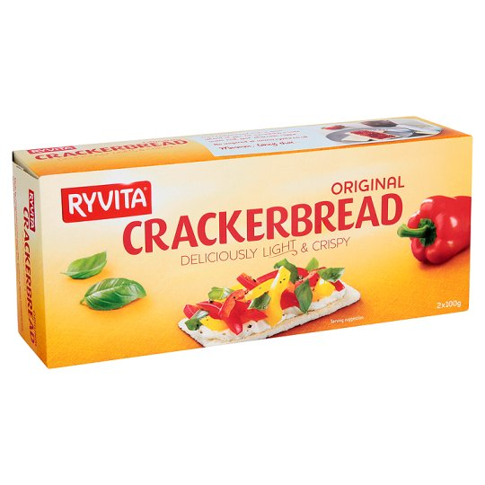 Ryvita Original Wholegrain Crackerbread 125g