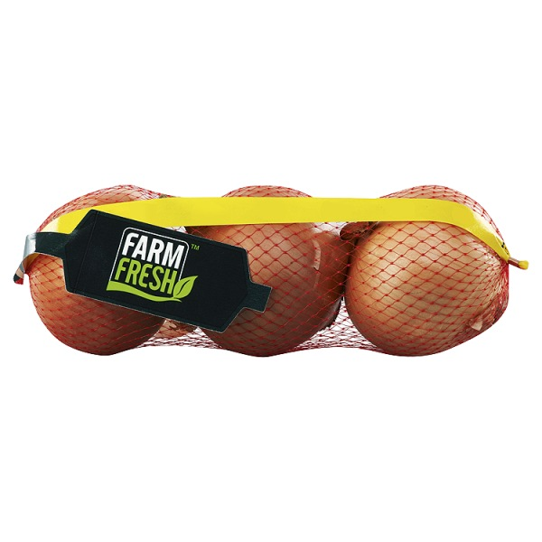 Farm Fresh Brown Onions MEDIUM 500g