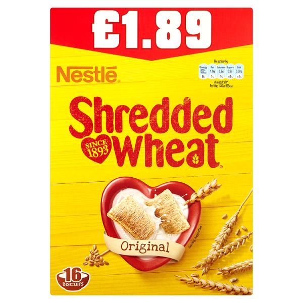 Shredded Wheat Original 16 Biscuits