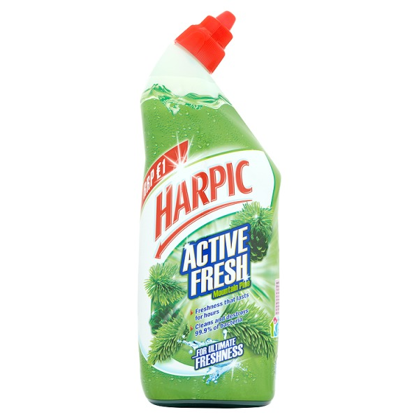 HarpicToilet Cleaner Active Fresh Mountain Pine 750ml
