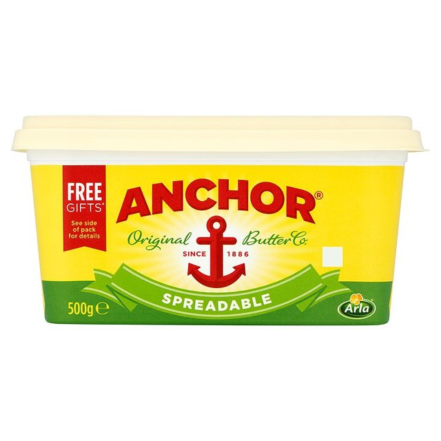 Anchor ** SPREADABLE ** Butter 500g