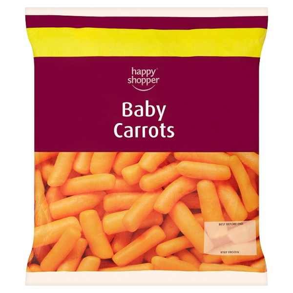 Happy Shopper *FROZEN* Baby Carrots 500g
