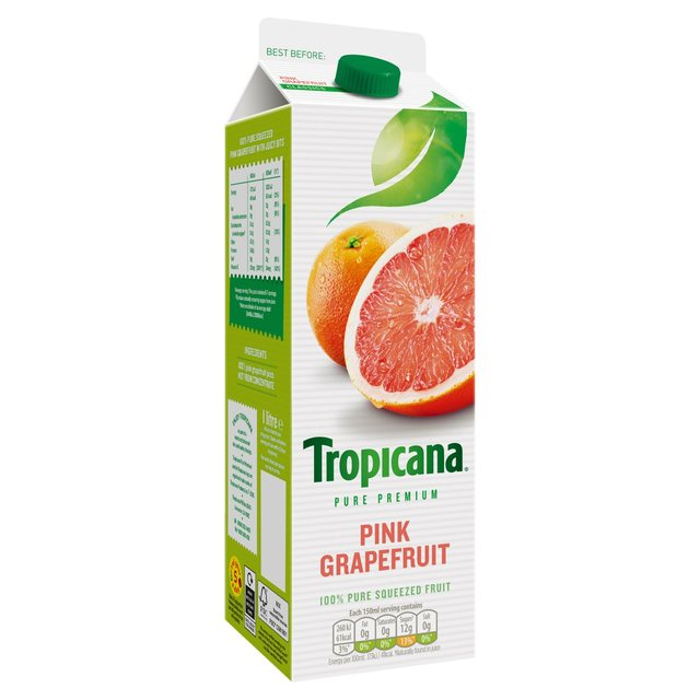 Tropicana Pure Premium Pink Grapefruit Juice 950ml