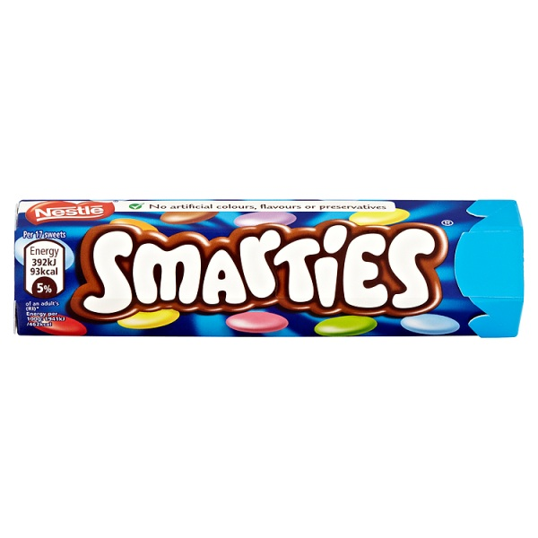 Smarties Hexatube 38g