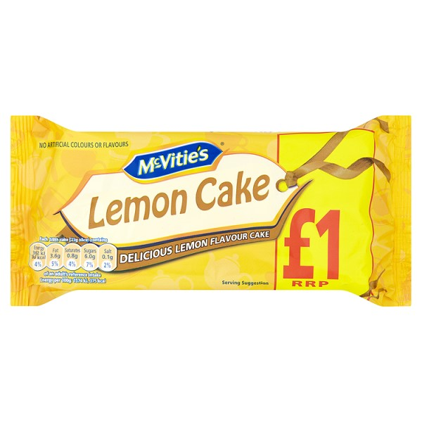 McVities Lemon Loaf Cake