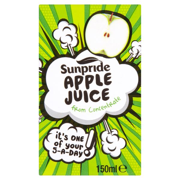 Sunpride Apple Juice From Concentrate 150ml