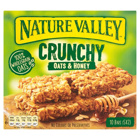 Nature Valley Crunchy Oats and Honey 10Bars