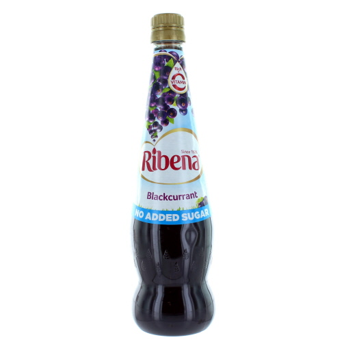 Ribena Blackcurrant Squash No Added Sugar 850ml