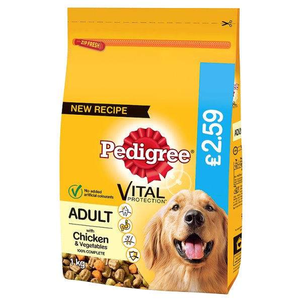 Pedigree Small DogComplete Dry With Chicken & Veg 2.3kg