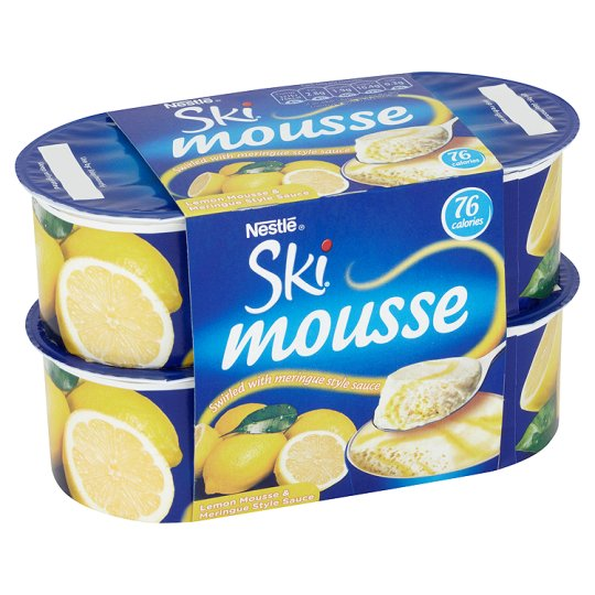 Ski Mousse Lemon x 4