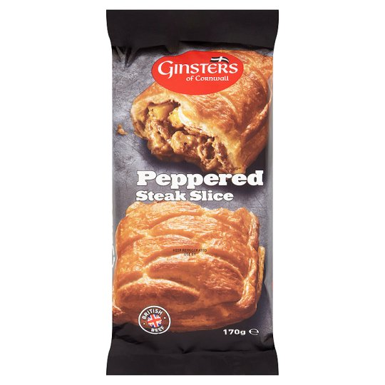Ginsters Peppered Steak Slice 170g