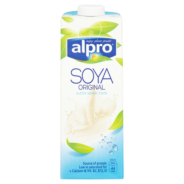 Alpro Dairy Free Soya Original Longlife Milk Alternative 1L