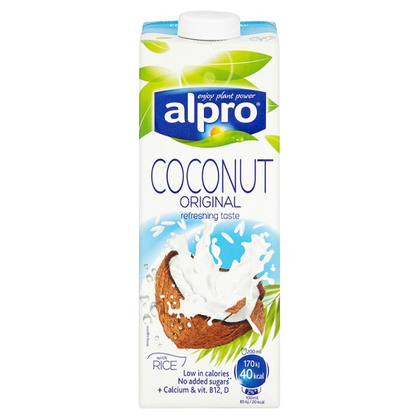 Alpro Dairy Free Coconut Original Longlife Drink 1 Litre