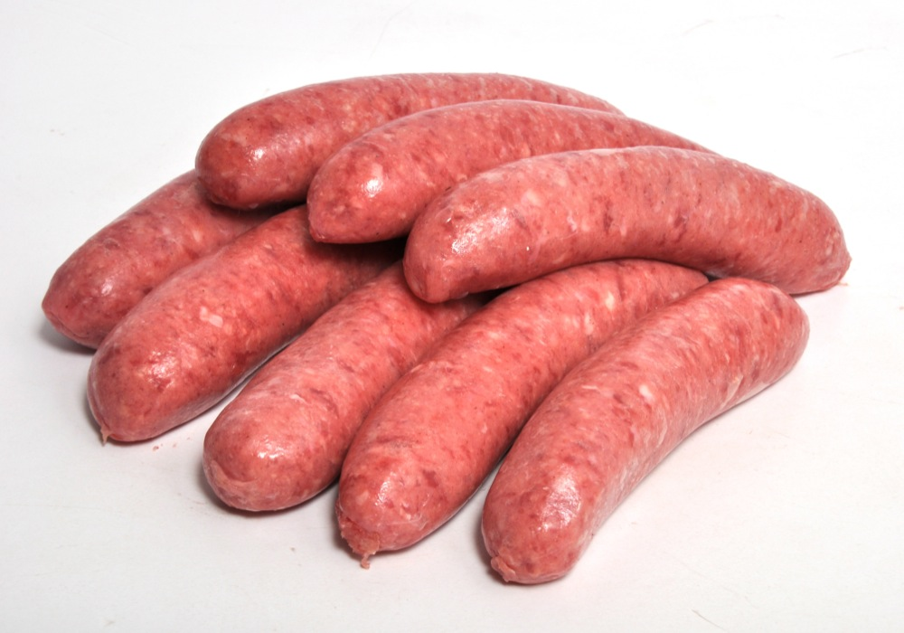 Ferndene Farm Premium Thick Beef and Guinness Sausages (6)