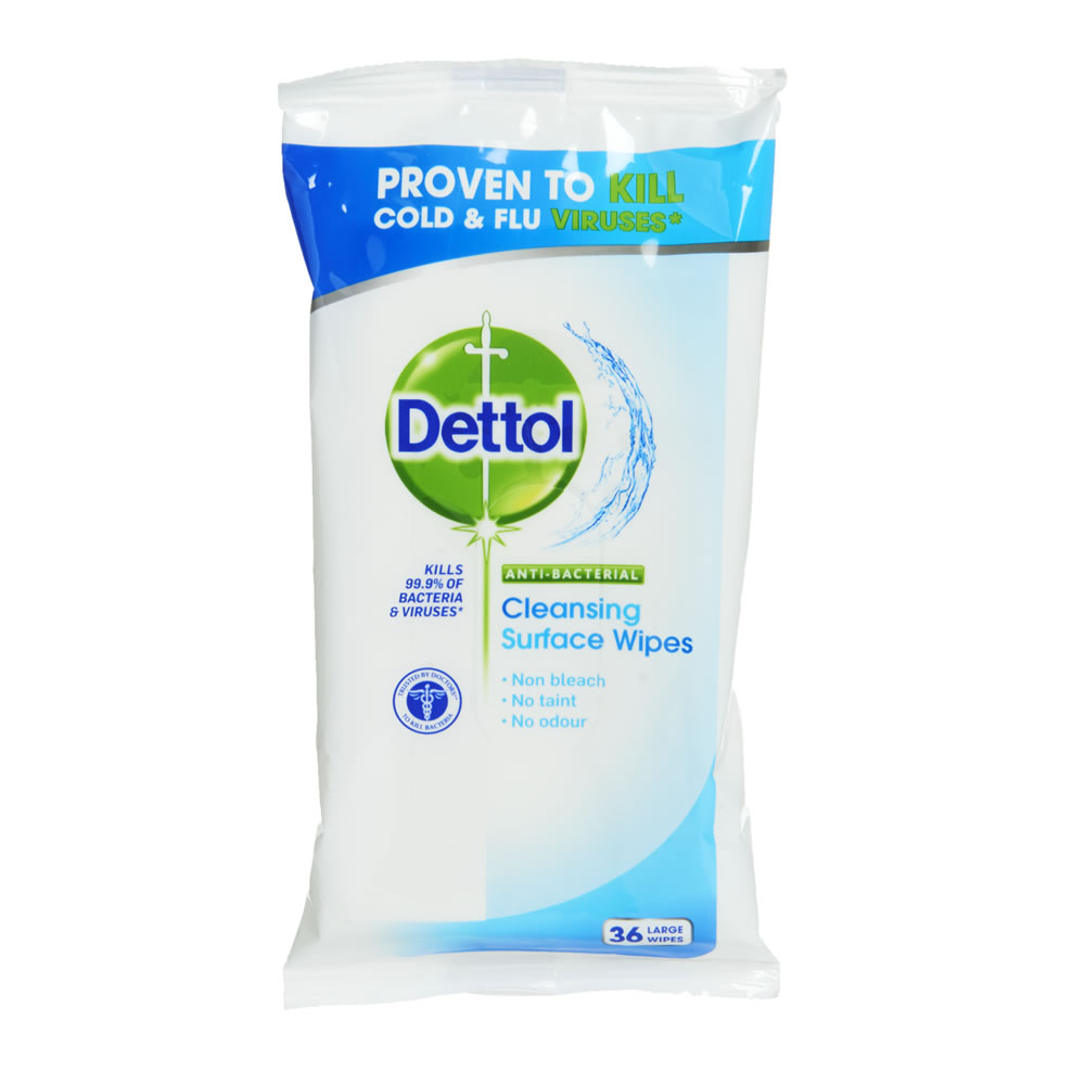 Dettol Anti-Bacterial Surface Wipes (72)