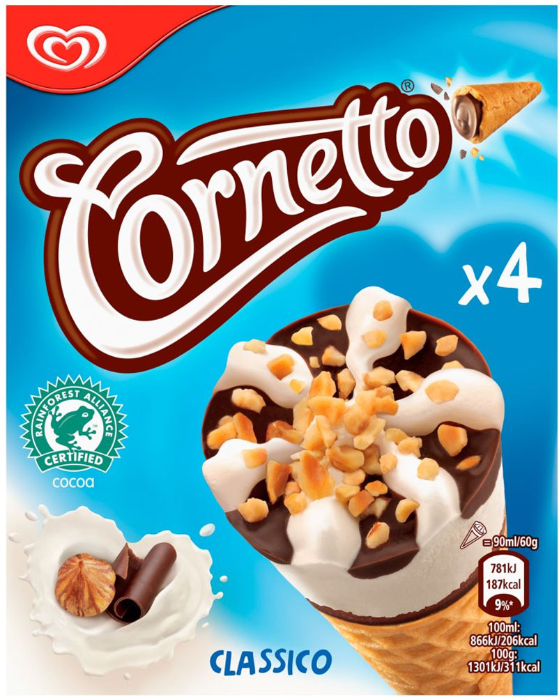 Cornetto Mint Ice Cream Cone (6)