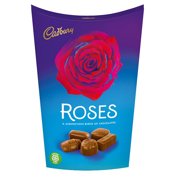 Cadbury Roses Chocolates Carton 186g