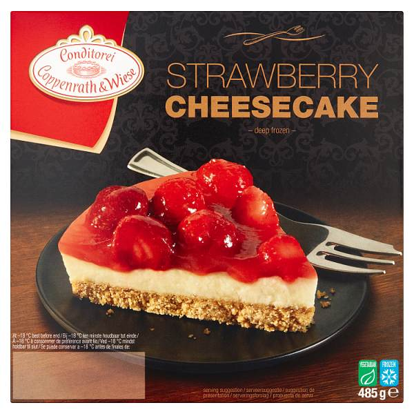 Coppenrath and Wiese Strawberry Cheesecake 485g