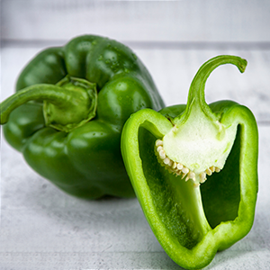 Farm Fresh ** GREEN ** Peppers Single