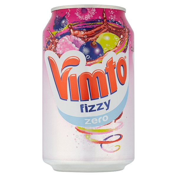 Vimto Fizzy Zero 330ml Can x 6
