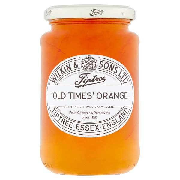 Tiptree 'Old Times' Orange Fine Cut Marmalade 454g