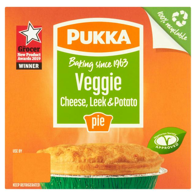 Pukka Veggie Leek & Potato Pie *** FROZEN ***