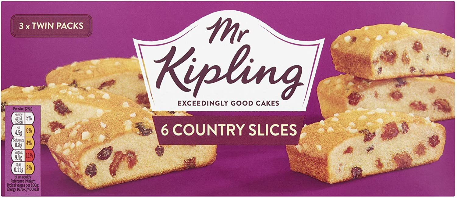 Mr Kipling Country Slices 6 Pack